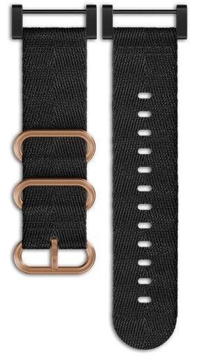 Textilní řemínek k hodinkám Suunto Essential Copper Black Kit
