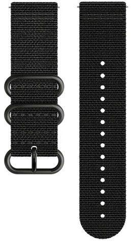 Textilní řemínek k hodinkám Suunto Traverse Alpha Black