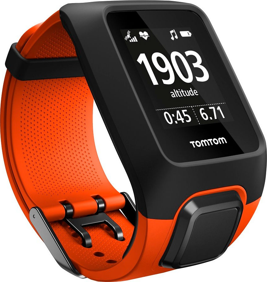 TomTom Adventurer Cardio + Music Orange (L)