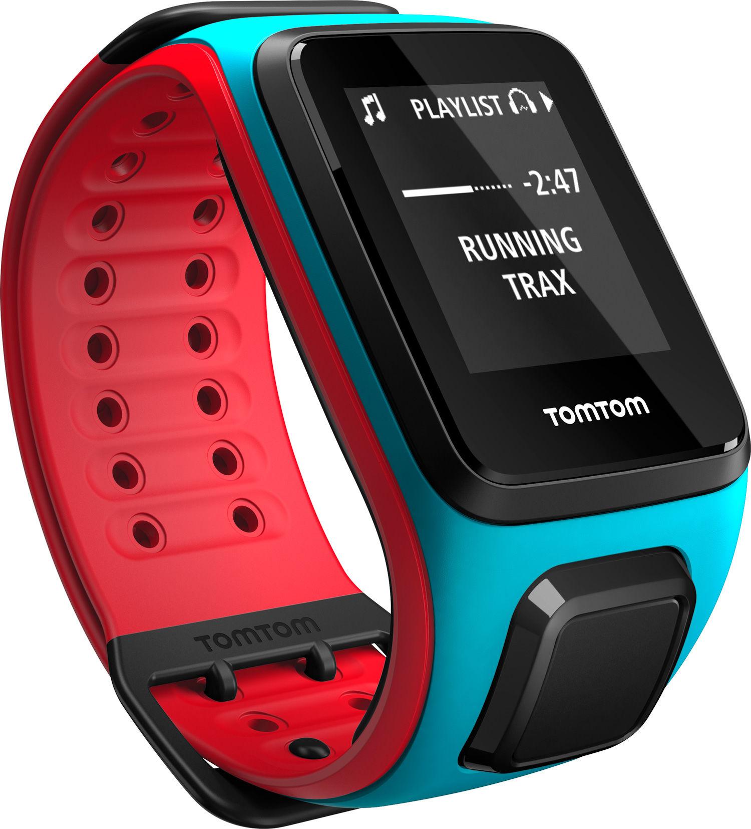 TomTom Runner 2 Cardio + Music Blue/Red (L)