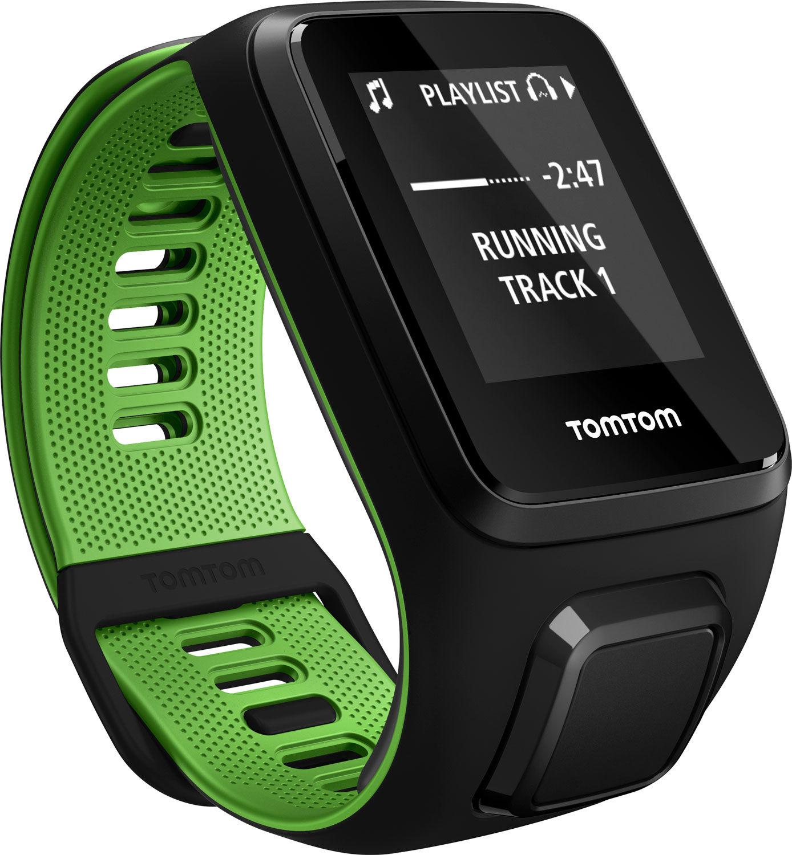 TomTom Runner 3 Cardio + Music Black/Green (L)