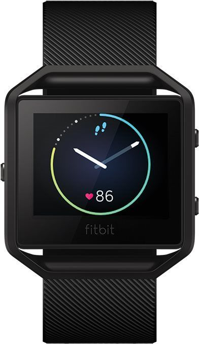 Fitbit Blaze Small Black Gunmetal FB502GMBKS-EU. Unisex hodinky - plastový  řemínek 0c477a7c0d9