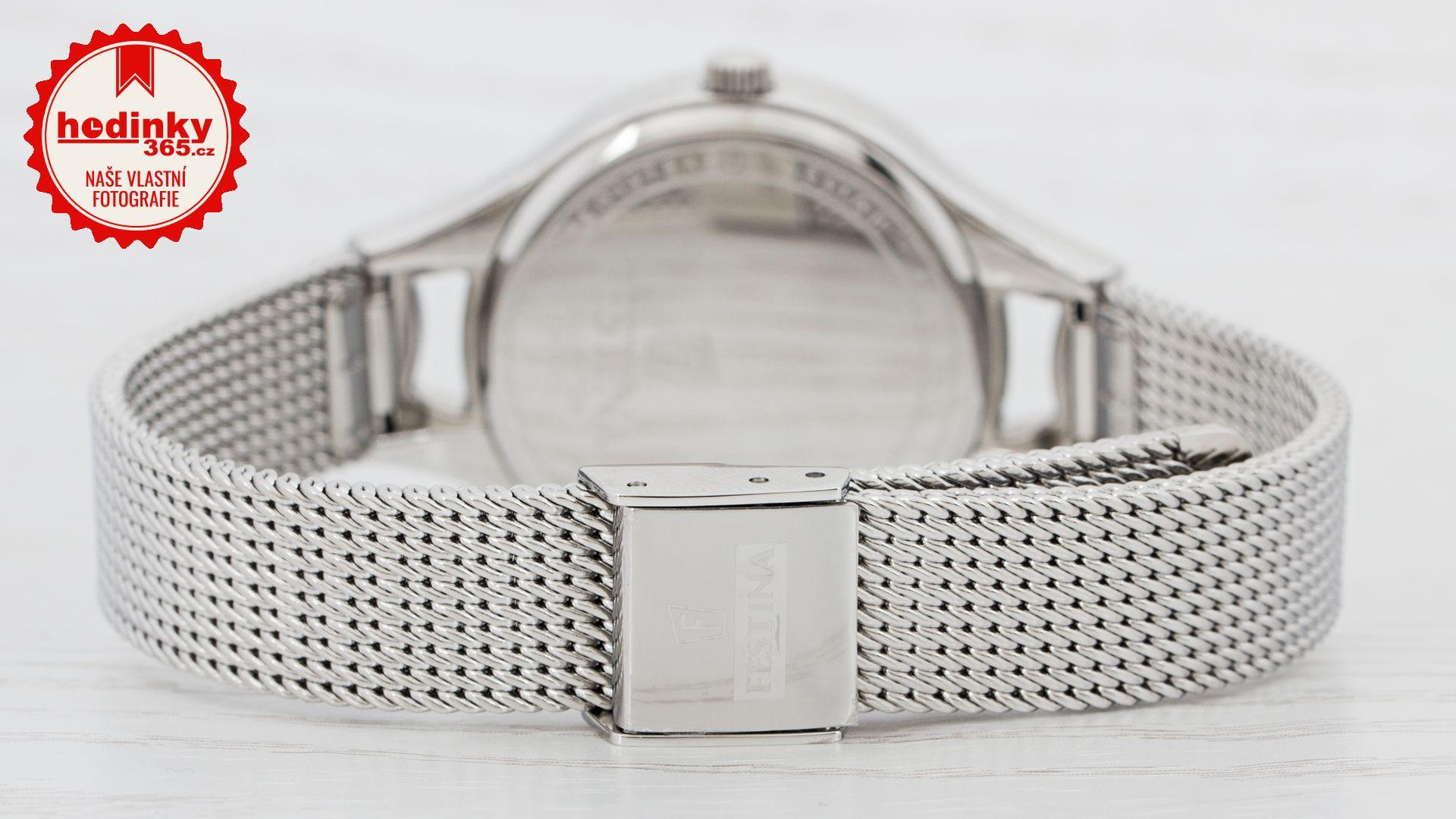 Festina Mademoiselle Swarovski 20331 2. Dámské hodinky - ocelový řemínek 540e66ae9fb