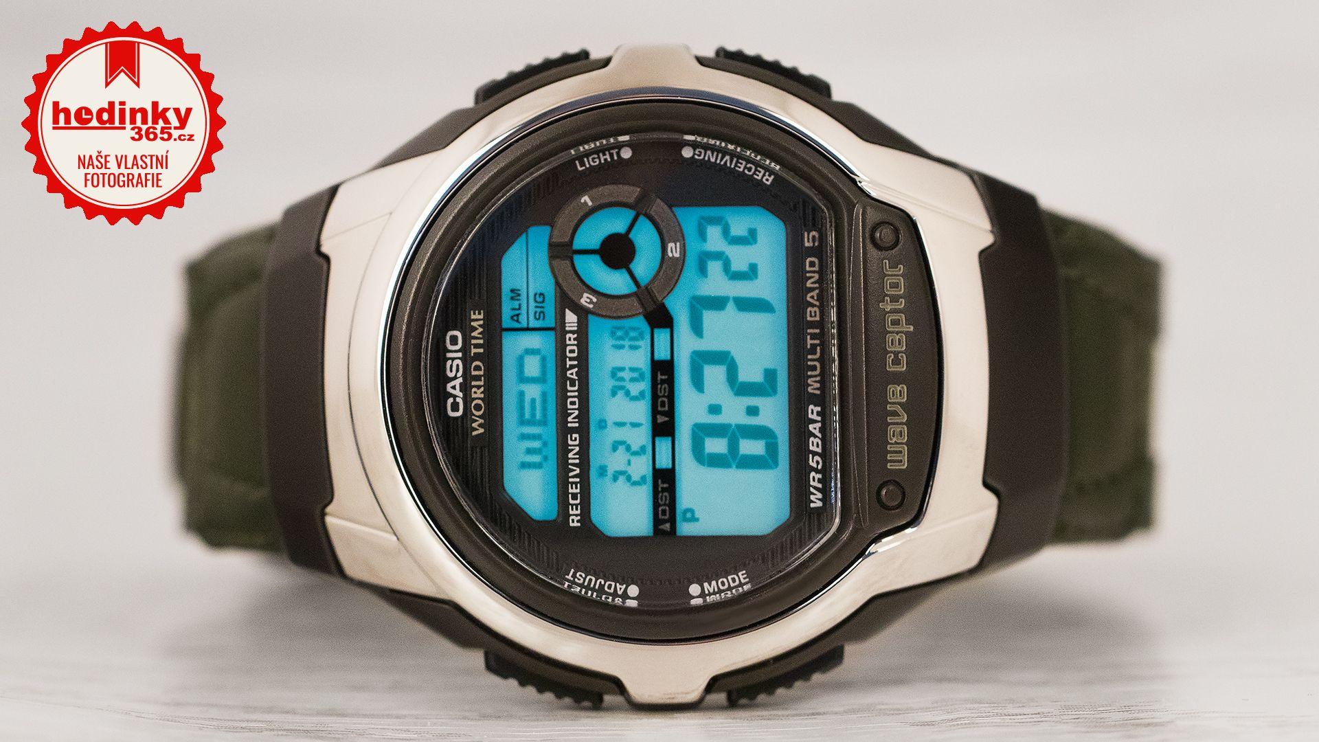 Casio Wave Ceptor Wv M60b 3aer Hodinky 365 Cz