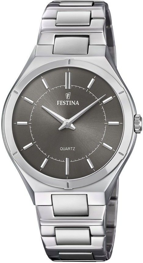 Festina Classic 20244 3. Pánské hodinky - ocelový řemínek 501f6c352e