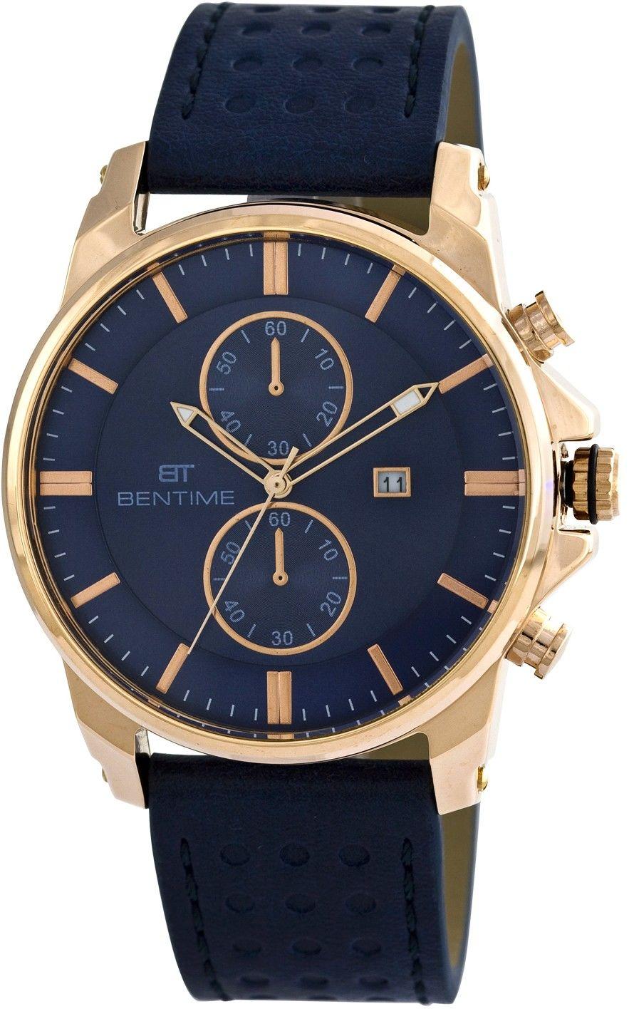 Pánské hodinky - kožený řemínek 0867053c2a8