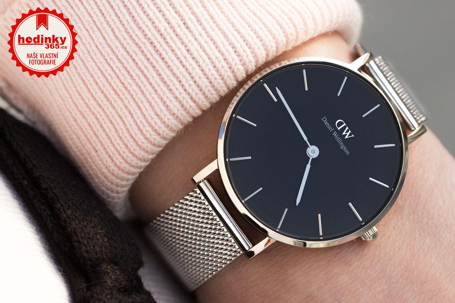 Daniel Wellington Classic Petite Sterling DW00100162. Dámské hodinky -  ocelový řemínek b2edc8da81