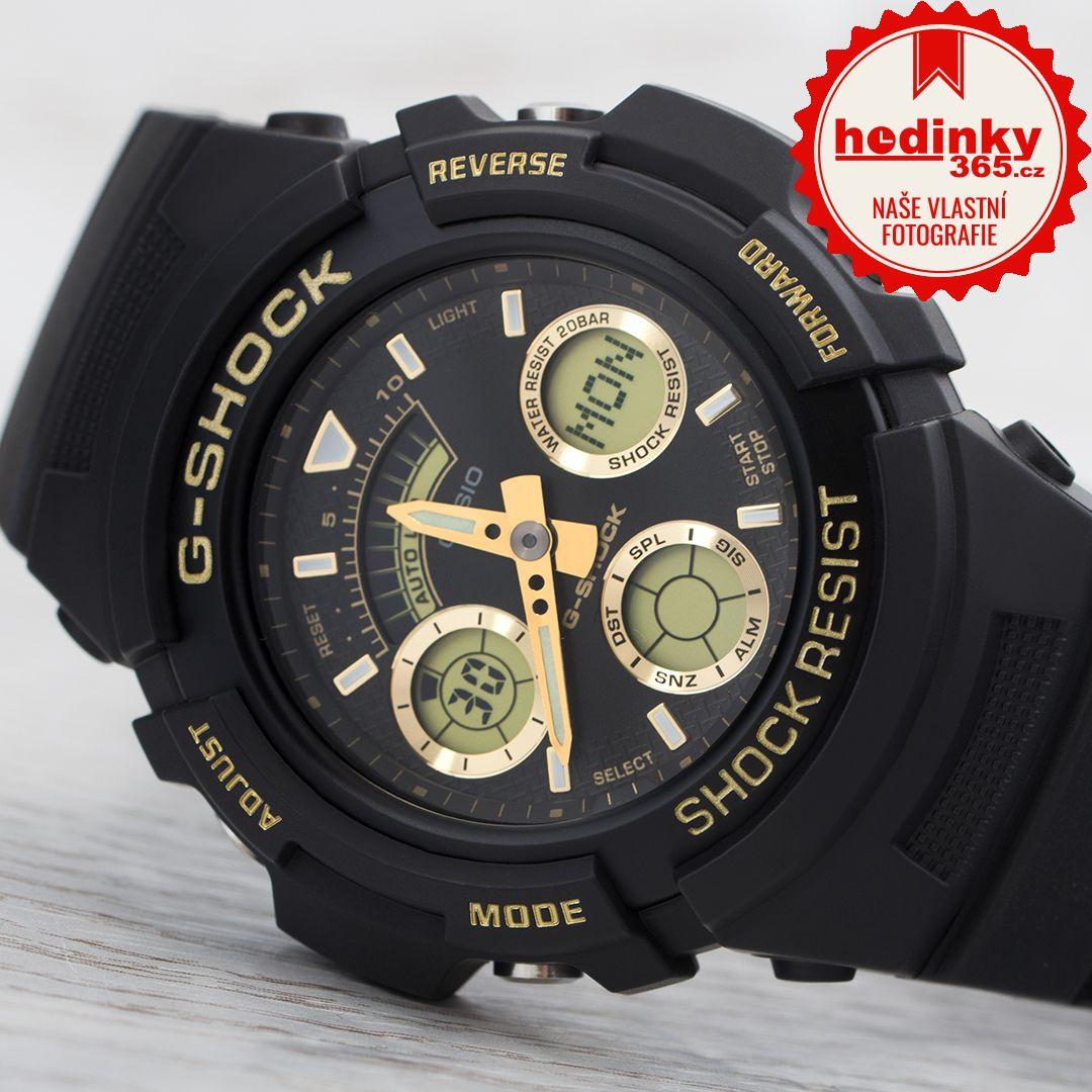 Casio G-Shock Original AW-591GBX-1A9AER Black   Gold Special Edition ... a76930a577