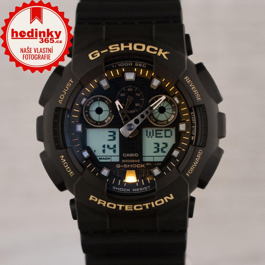 Casio G-Shock Original GA-100GBX-1A9ER Black   Gold Special Edition ... 4ba24fe6ae