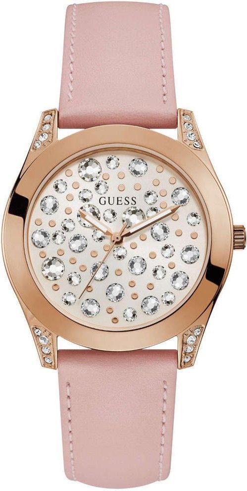 0db214f85 Dámské hodinky - kožený řemínek, ocel pouzdro, minerální sklíčko. Veškeré  technické parametry naleznete níže