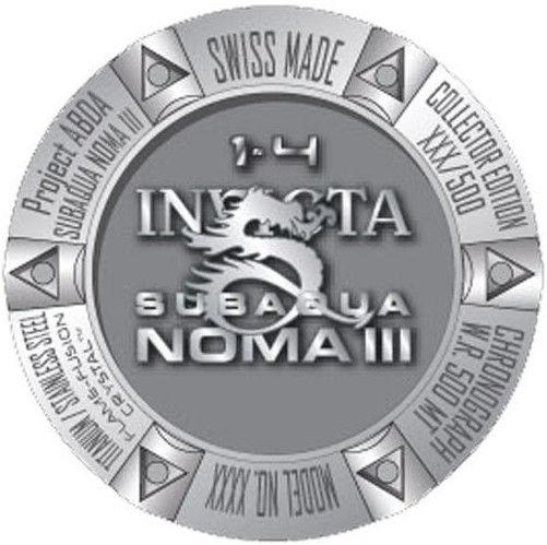 Invicta Subaqua Noma III 0805 Limited Edition 500pcs. Pánské hodinky -  ocelový řemínek df8b0ea3c1a