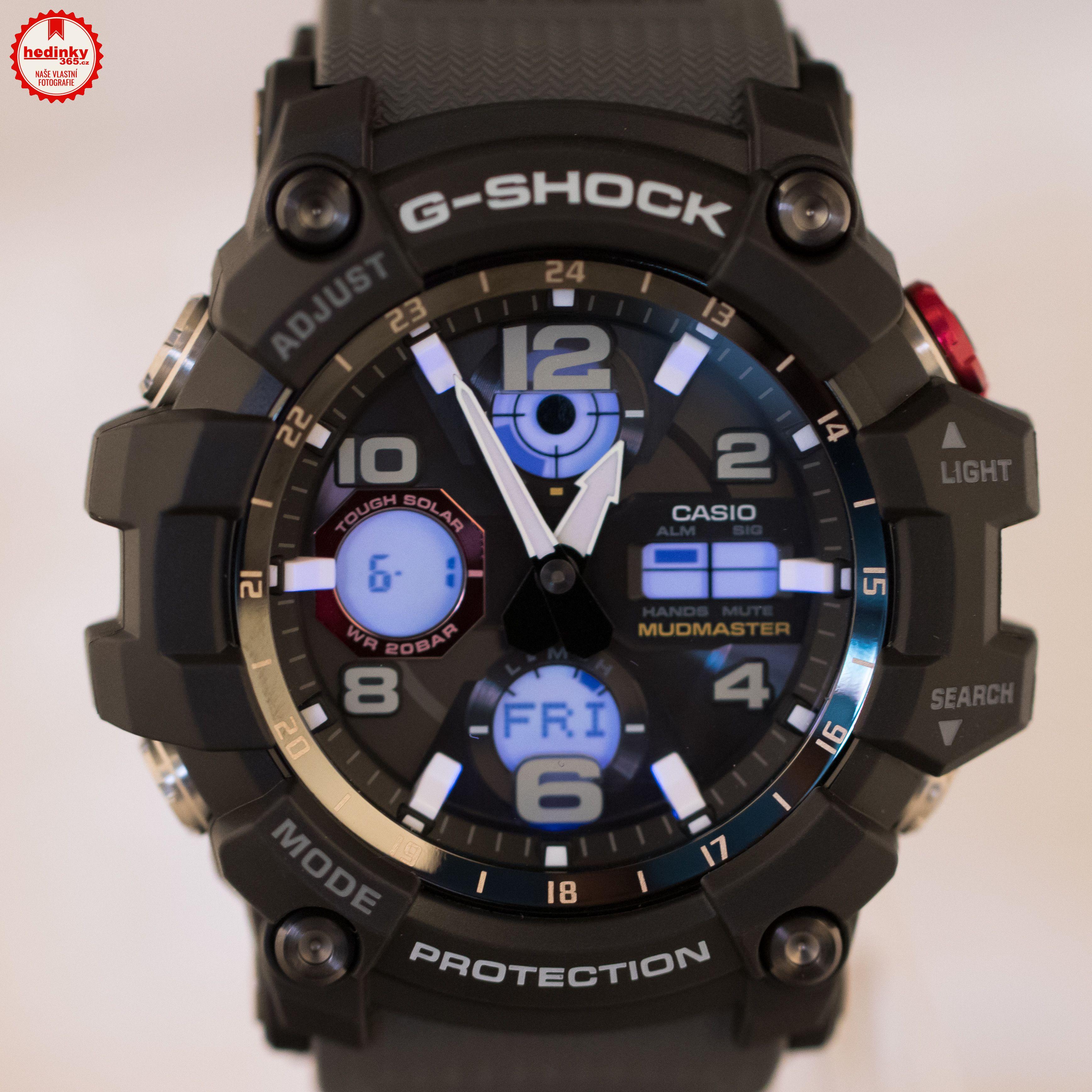 9a1d2c7f31c Casio G-Shock Mudmaster GWG-100-1A8ER