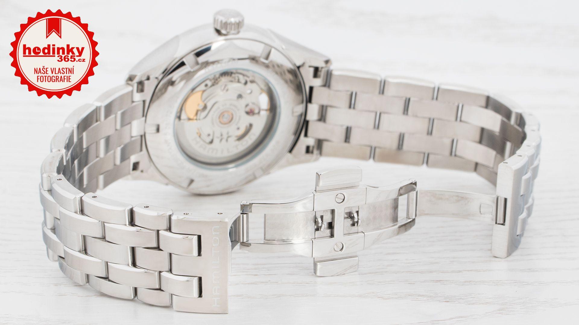 Hamilton Jazzmaster Open Heart Auto H32705131. Pánské hodinky - ocelový  řemínek e8779a31b0c