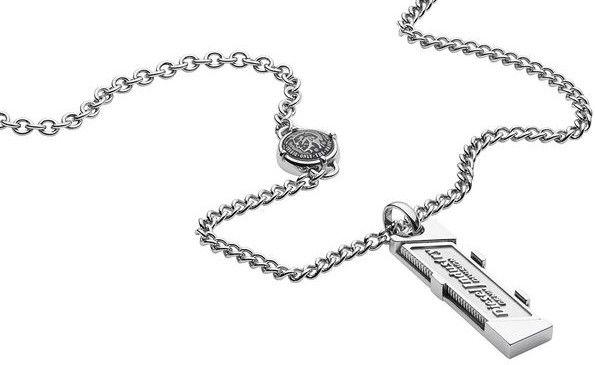 Pánský náhrdelník z chirurgické oceli Diesel DX 1036. 1ks skladem Doručíme  do čtvrtku 7.3. více o doručení a dopravě 5cc392b557