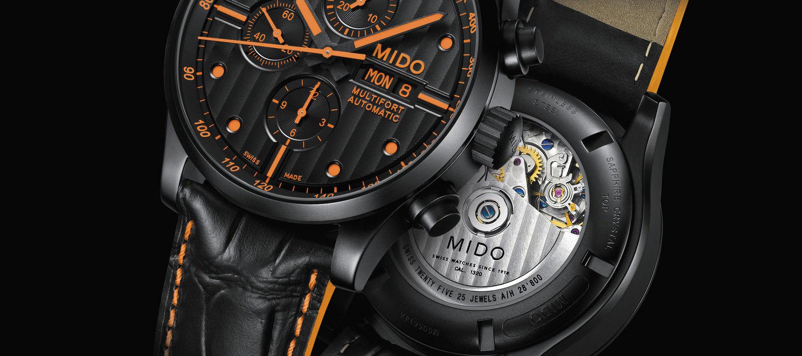 dda0e8864ca Mido Multifort M005.614.36.051.22 Special Edition + náhradní řemínek ...