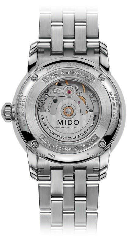 3ed15f48d77 Mido Baroncelli Trilogy Automatic M8608.4.26.1 Limited Edition ...
