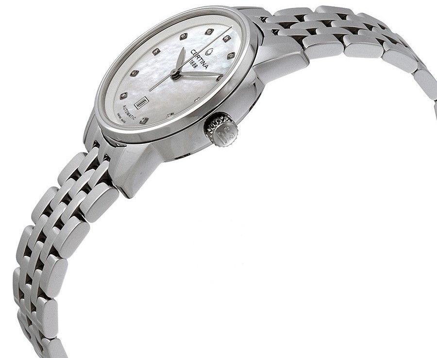 Certina DS Podium Lady Automatic C001.007.11.116.00. Dámské hodinky -  ocelový řemínek 4a431eb2dbc