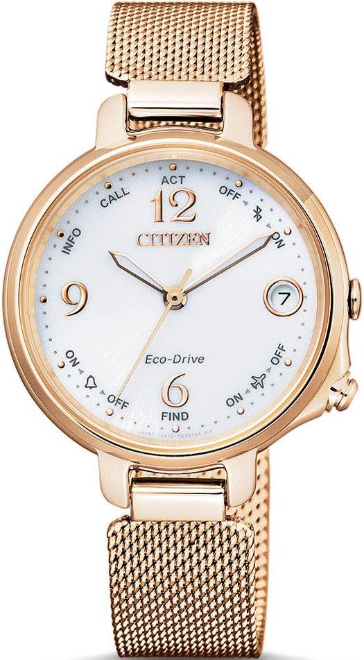 10784eadf Citizen Elegant Ladies Bluetooth Smartwatch Eco-Drive EE4033-87A. Dámské  hodinky - ocelový řemínek, ocel pouzdro, minerální sklíčko.