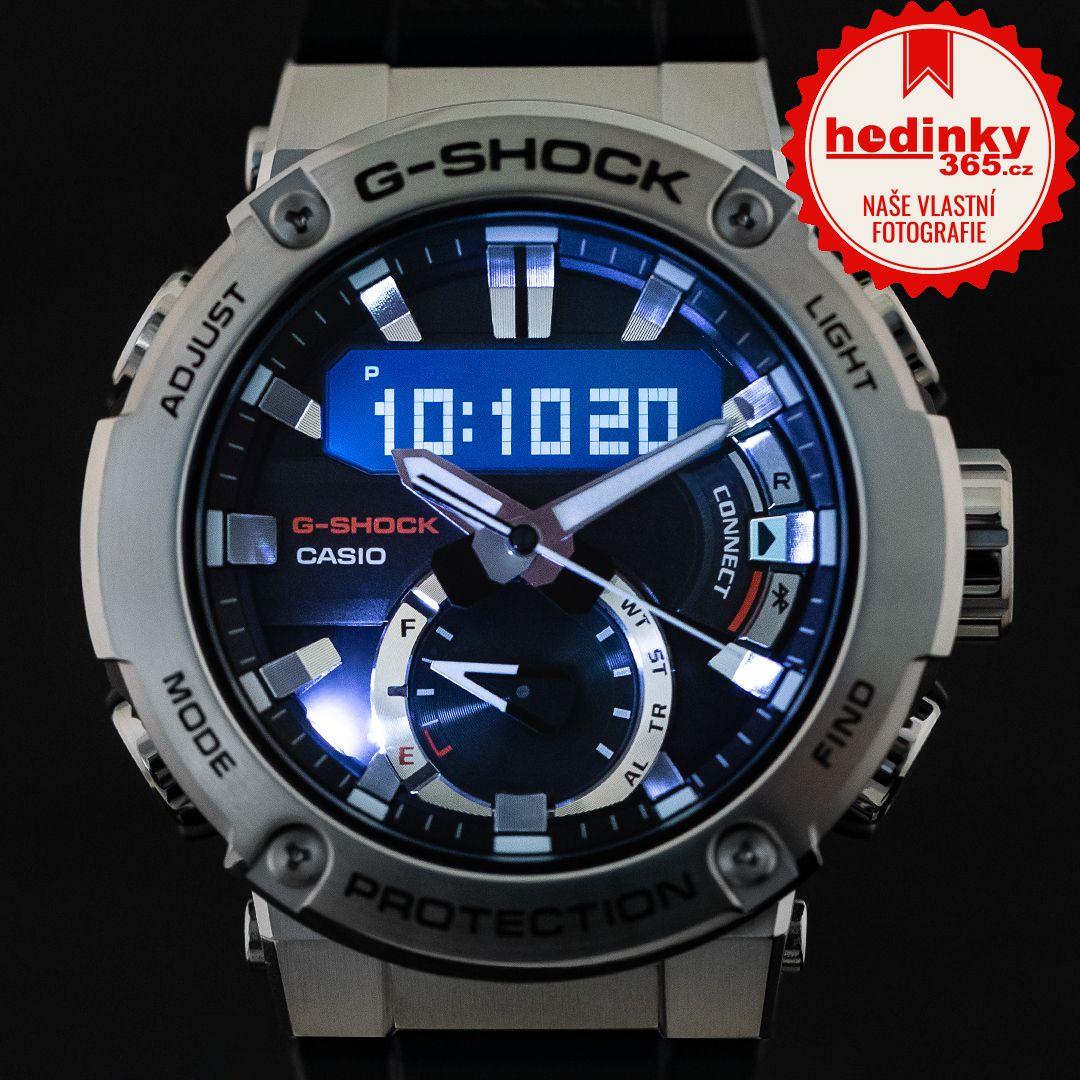 Casio G Shock G Steel Gst B200 1aer Carbon Core Guard Hodinky 365 Cz