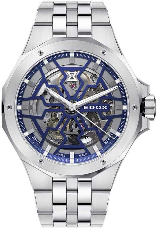 Edox Delfin Mecano Automatic 85303-3m-buigb | Hodinky-365.cz