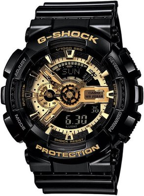Casio G-Shock Original GA-110GB-1AER Black   Gold Special Edition ... e393949a9ee