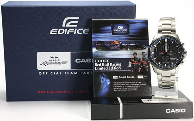 Casio Edifice Infiniti Red Bull Racing Limited Edition EQW-A1110RB-1AER
