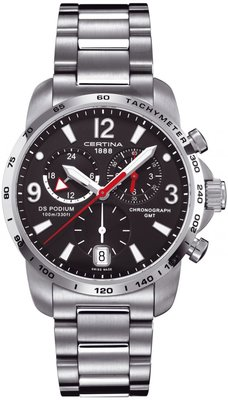 Certina DS Podium Chronograph GMT Quartz C001.639.11.057.00
