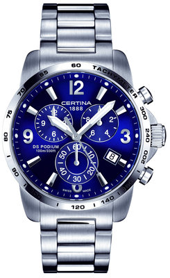 Certina DS Podium Chronograph GMT Quartz C001.639.11.047.00