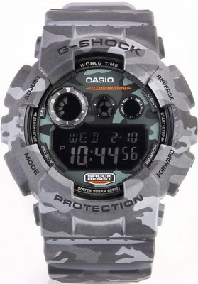 Casio G-Shock Original GD-120CM-8ER Camouflage Series ... c798a3fdd8a