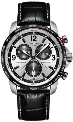 8182977876 Certina DS Podium Quartz Big Size Chronograph 1 100 SEC C001.647.16.037.00  ...
