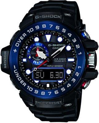 Casio G-Shock Gulfmaster GWN-1000B-1BER ... c42ebbd9f8