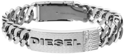 Pánský náramek z chirurgické oceli Diesel DX0326  bd1c7144ae