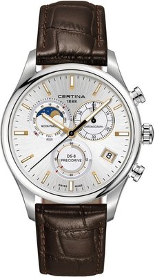 Certina DS-8 Chronograph Moon Phase Quartz C033.450.16.031.00