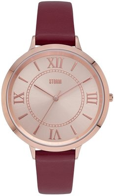 Storm Quella Rose Gold Red