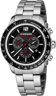Wenger Roadster Black Night Chrono 01.0853.107