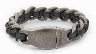 4846cdd3c Pánský náramek z chirurgické oceli Police PJ25600BSE/01-L | Hodinky ...