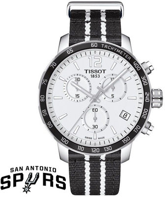 Tissot Quickster NBA S.A.Spurs Special Collection T095.417.17.037.07
