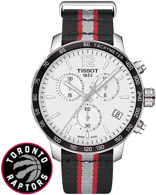 Tissot Quickster NBA Toronto Raptors Special Collection T095.417.17.037.16