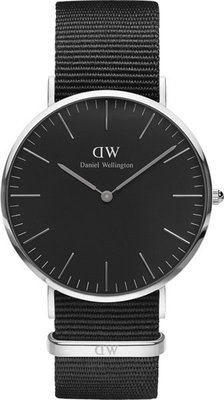 Daniel Wellington Classic Black Cornwall Silver DW00100149 Daniel  Wellington Classic Black Cornwall Silver DW00100149. Pánské hodinky ... 45049e309a5
