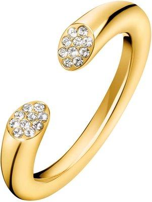 Dámský prsten z pozlacené chirurgické oceli Calvin Klein Brill KJ8YJR1401 28f987bc8e