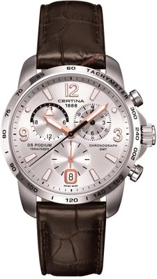 Certina DS Podium Chronograph GMT Quartz C001.639.16.037.01