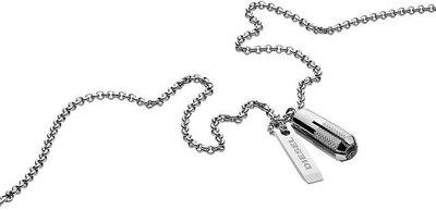 Pánský náhrdelník z chirurgické oceli Diesel DX 1027  f39e14be2e