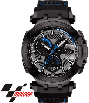 65b2b1e3e Tissot T-Race Moto GP Tom Lüthi 2018 T115.417.37.061.02 Limited Edition ...