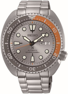 "Seiko Prospex Sea Automatic SRPD01K1 Dawn Grey Series Limited Edition 2018pcs ""Turtle"""