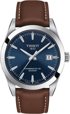 Tissot Gentleman Automatic Powermatic 80 Silicium T127.407.16.041.00