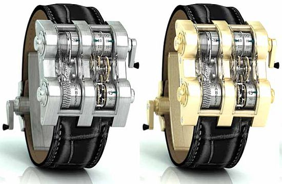 Cabestan Winch Tourbillion Vertical Watch